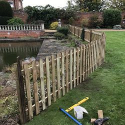 picket-fencing